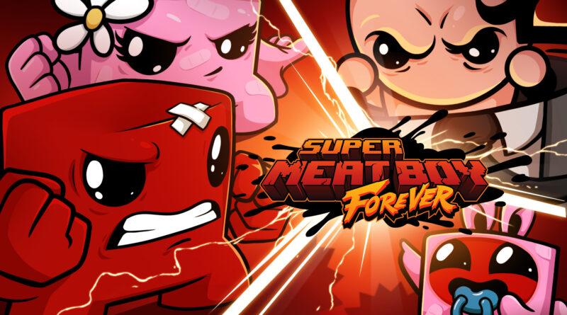download super meat boy forever
